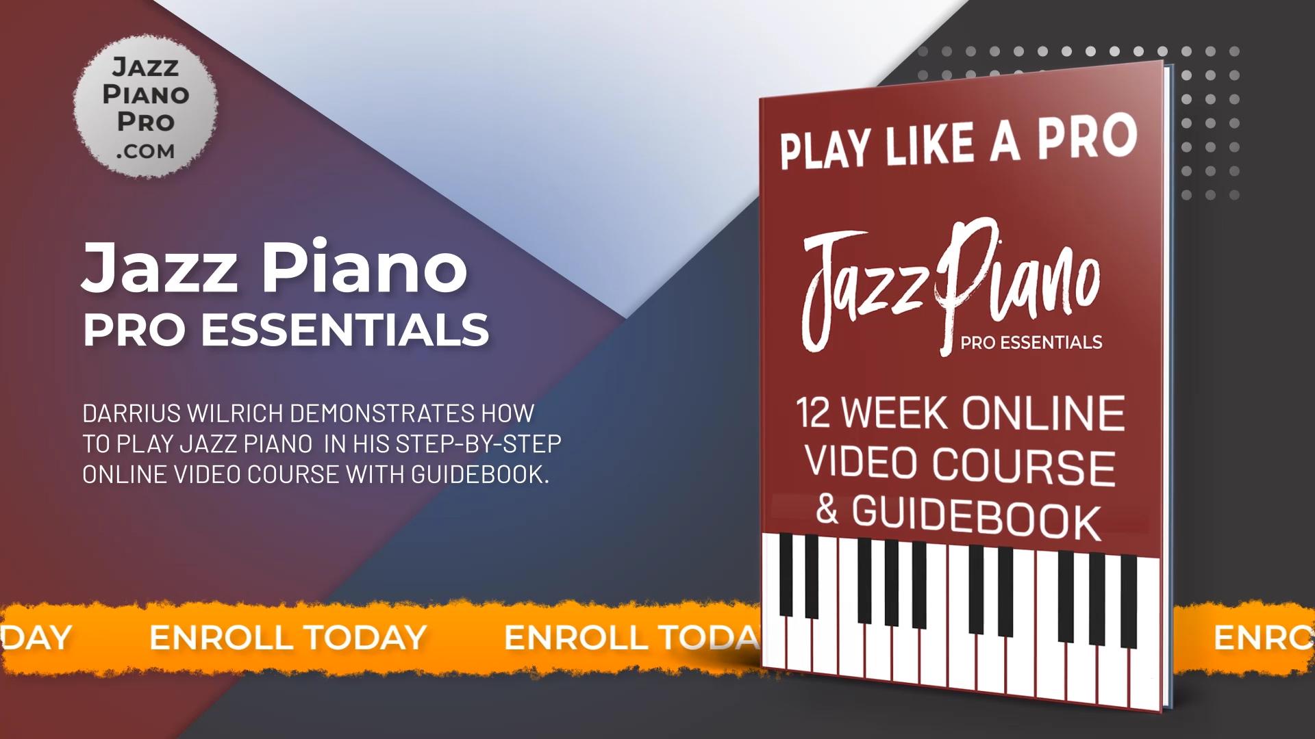 Jazz Piano Pro Website